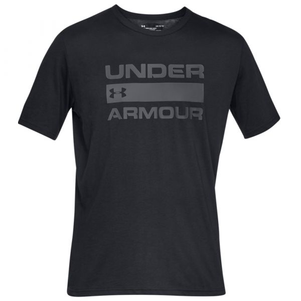 Under Armour Shirt Team Issue Wordmark SS schwarz