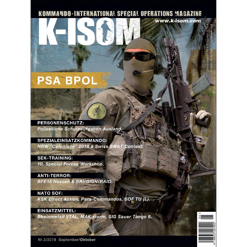 Kommando Magazin K-ISOM Ausgabe 05-2018