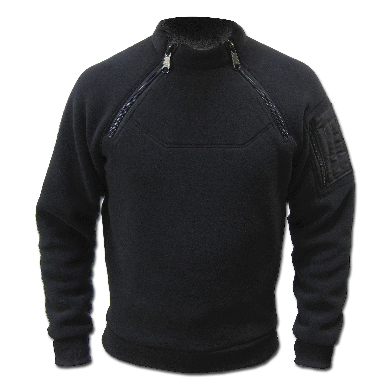 Jacke Kitanica 2-Zip Fleece schwarz