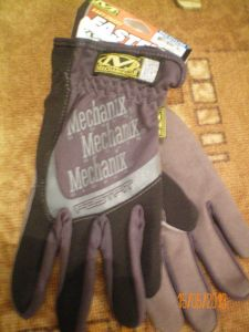 Gloves Mechanix Wear FastFit bla
