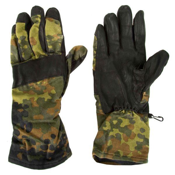 BW Kampfhandschuhe flecktarn gebraucht