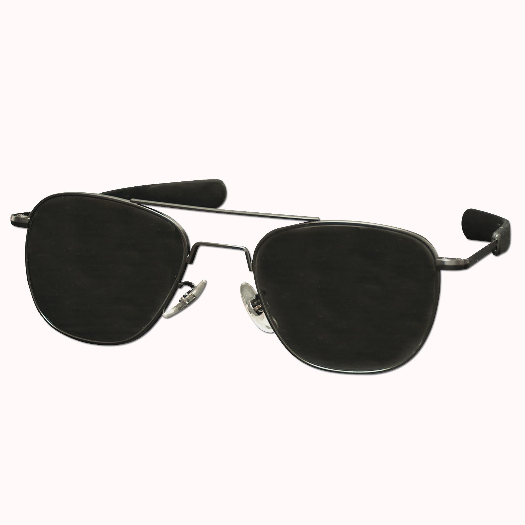 Piloten Sonnenbrille 57 mm schwarz