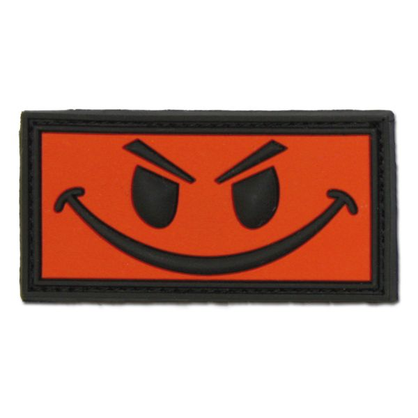 3D-Patch Evil Smiley rot