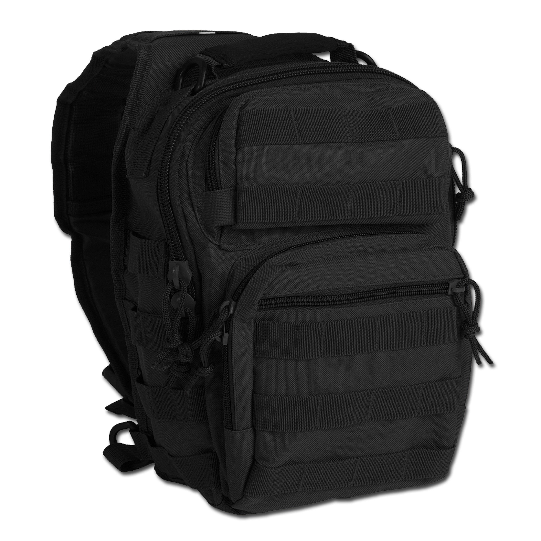 Rucksack Assault Pack One Strap Small schwarz