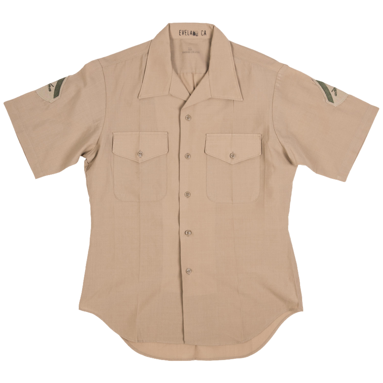 US Hemd USMC khaki gebraucht