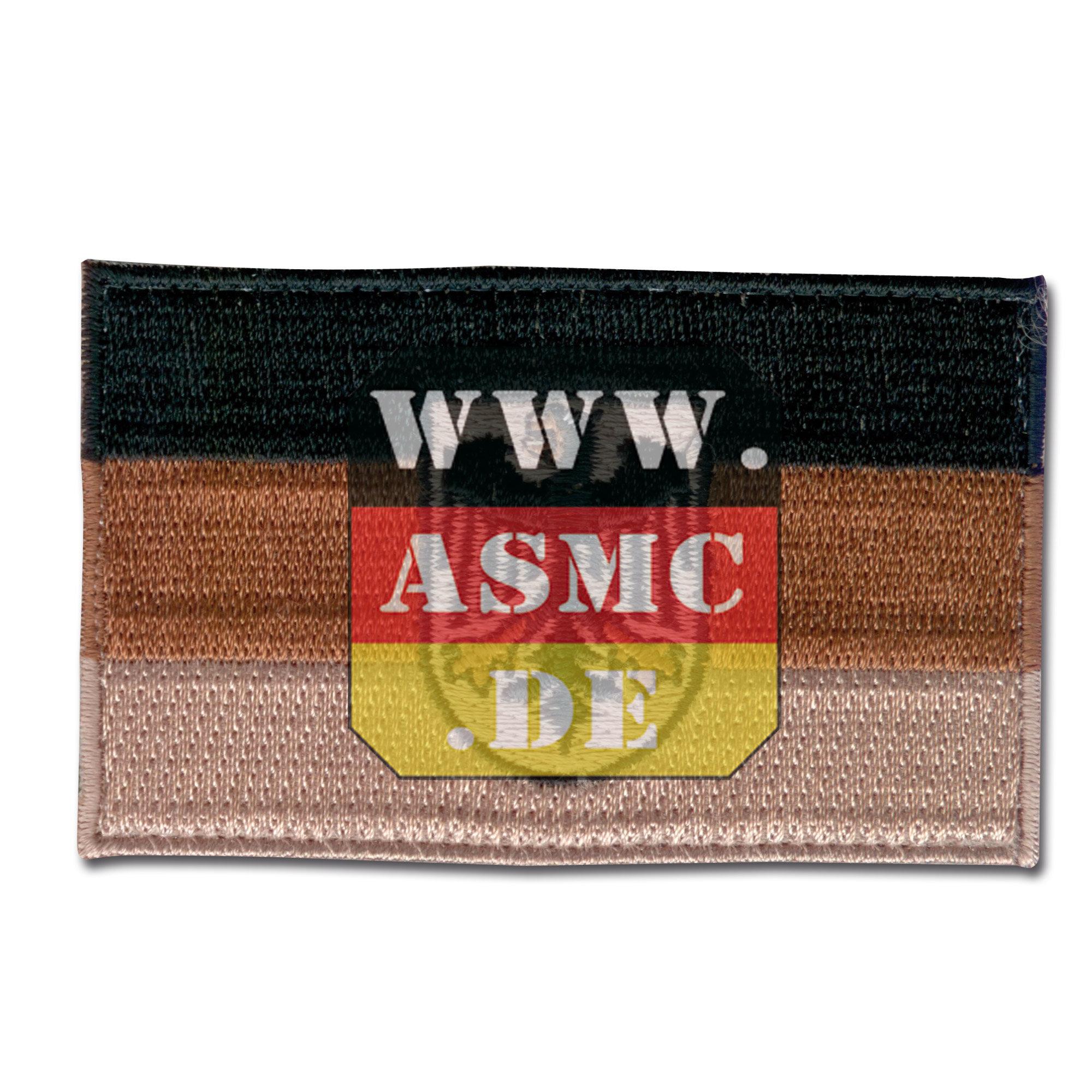 Abzeichen Flagge Deutschland tropentarn mit Adler