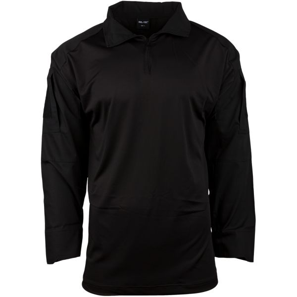 Combat Shirt Mil-Tec schwarz
