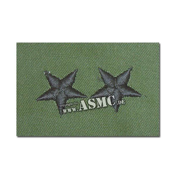 Rangabzeichen US Textil Major General oliv