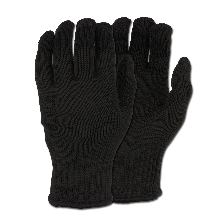 Fingerhandschuhe Security schwarz