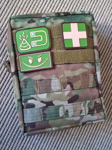 Einsatzbereite Tasche! :)