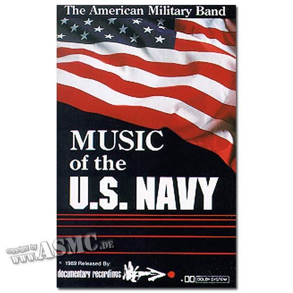 Musikkassette Music U.S. Navy