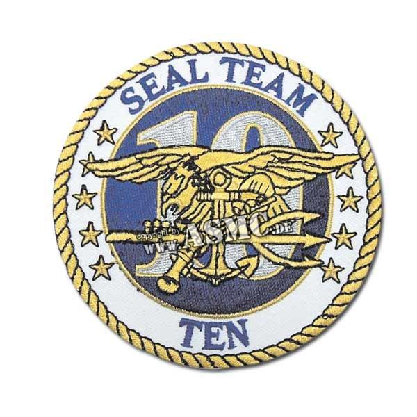 Abzeichen US Textil Seal Team Ten