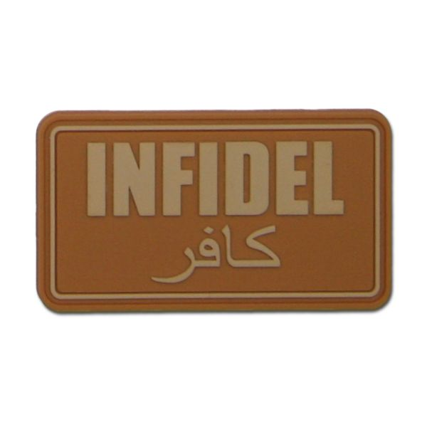 3D-Patch Infidel coyote