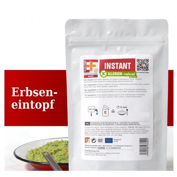 EF Emergency Food Erbseneintopf Tüte