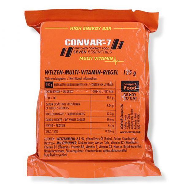 Convar-7 Riegel High Energy Bar Multi Vitamin 108 Stück