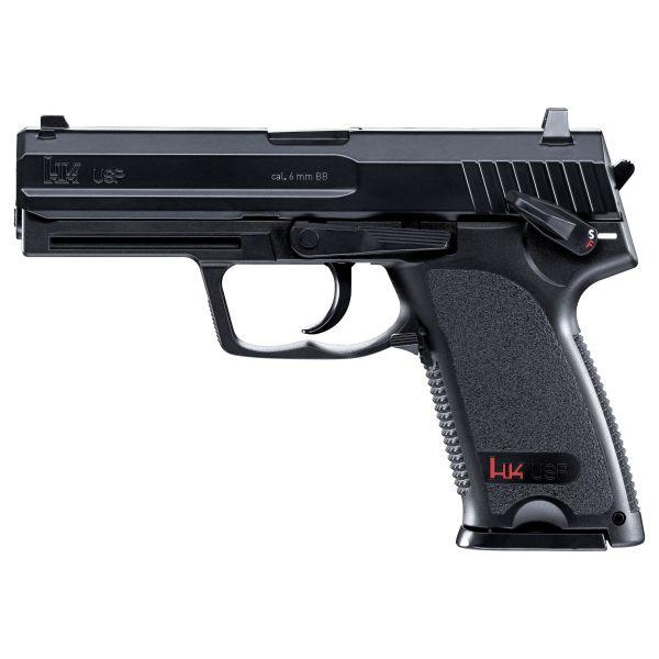Heckler Koch Airsoft Pistole USP 1.3 J metal slide CO2 schwarz