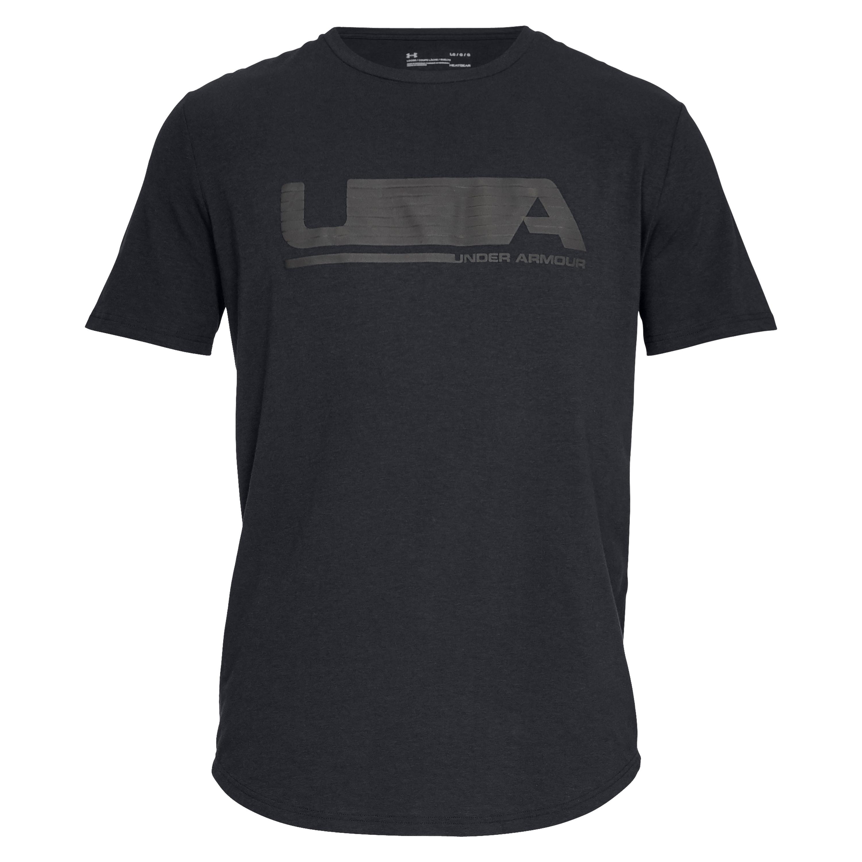 Under Armour Shirt Versa Tee schwarz