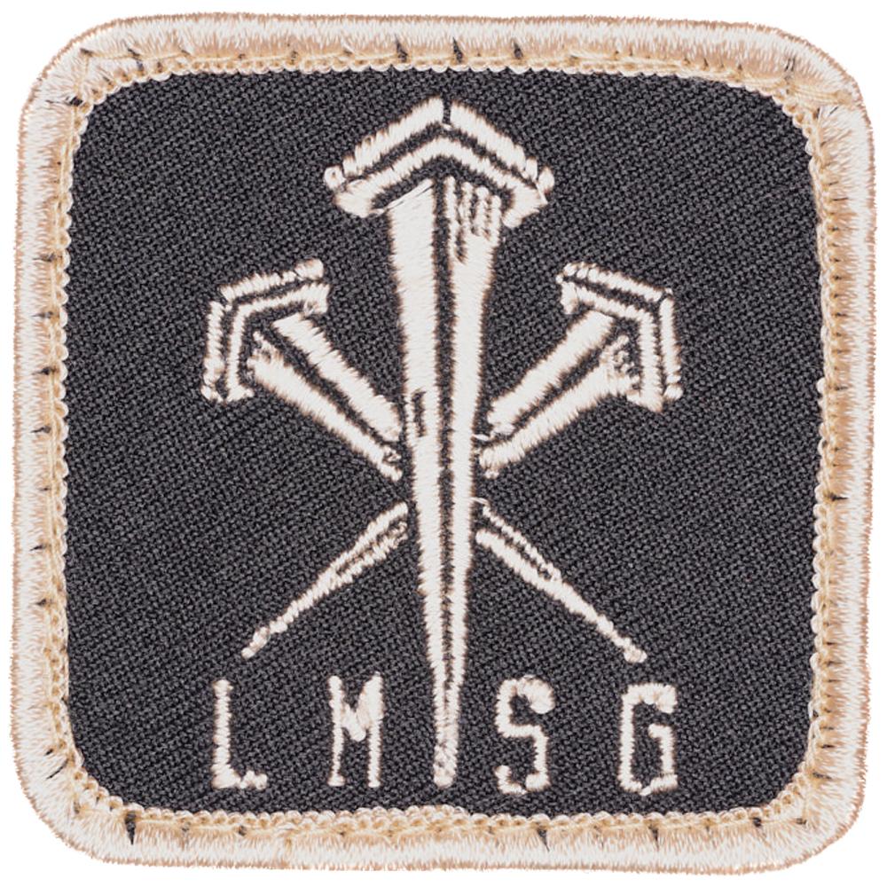 LMSGear Patch Logo Nails tan