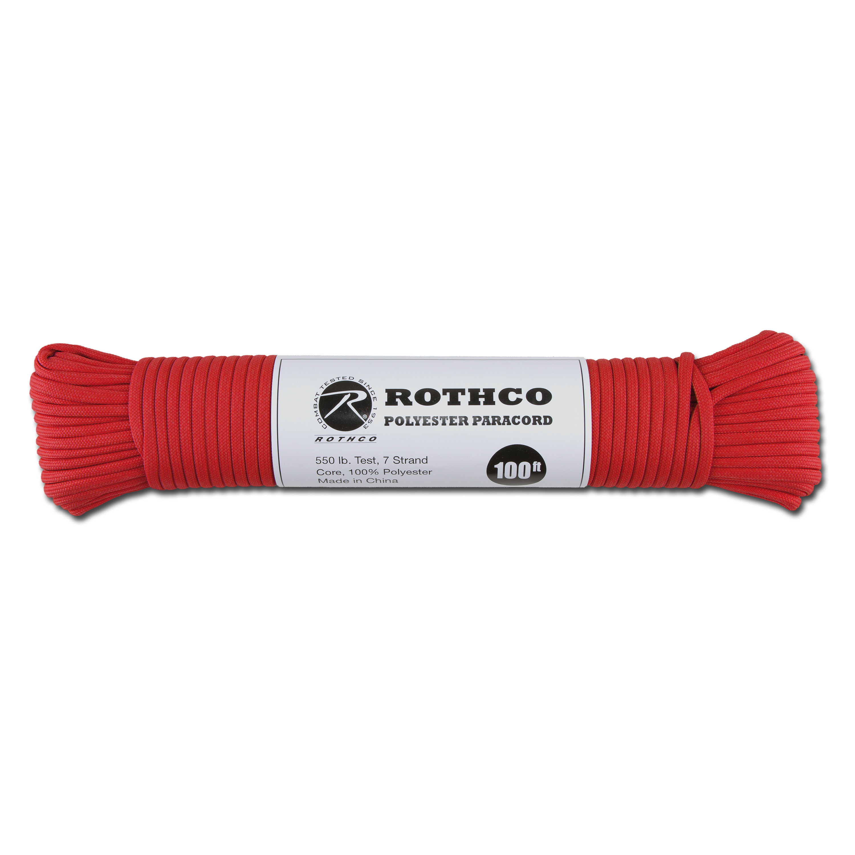 Paracord 550 lb rot 100 ft. Polyester