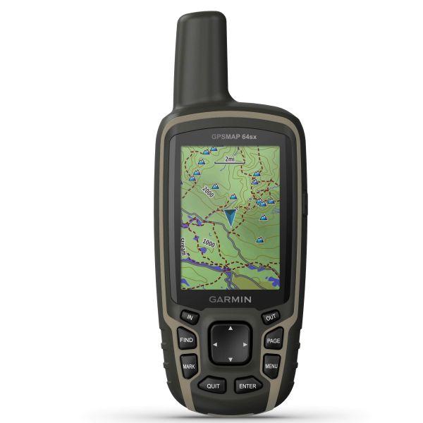 Garmin GPSMAP 64SX TOPO Deutschland V9 PRO
