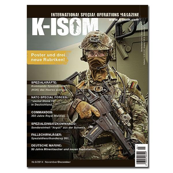 Kommando Magazin K-ISOM Ausgabe 06-2014