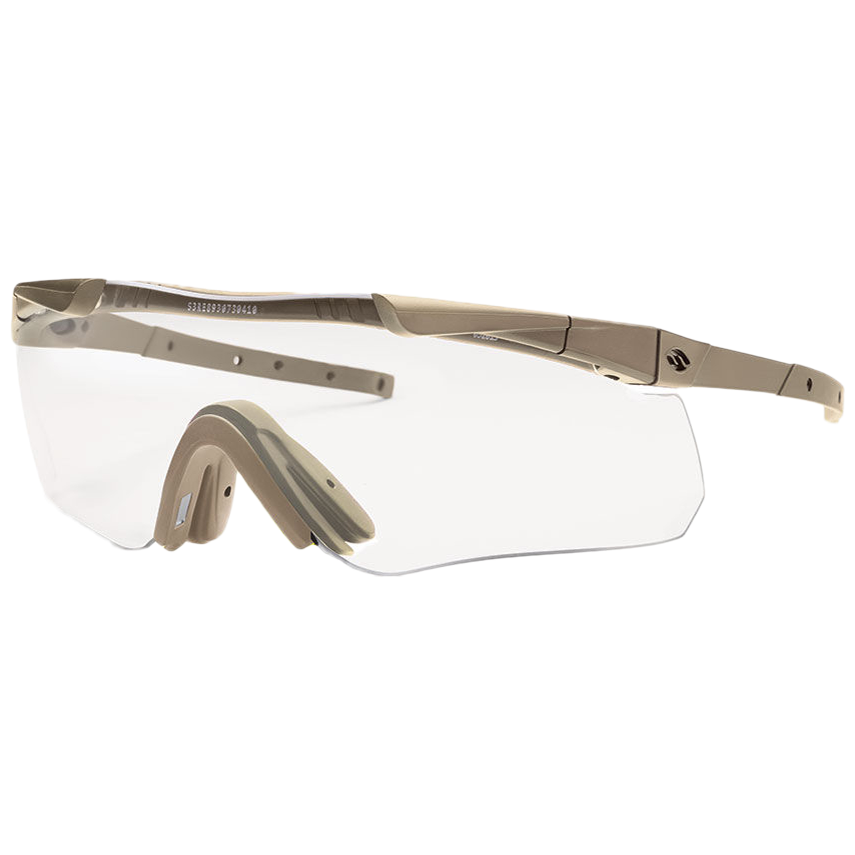 Smith Optics Brille Aegis Echo II Compact tan graues Glas