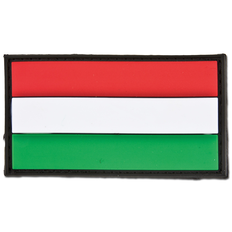 3D-Patch Ungarn Fahne
