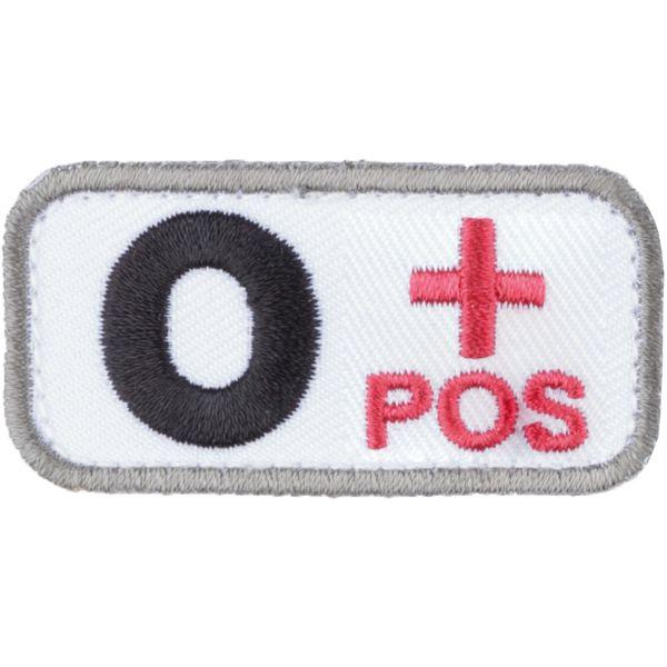 MilSpecMonkey Patch Blutgruppe O Pos medical