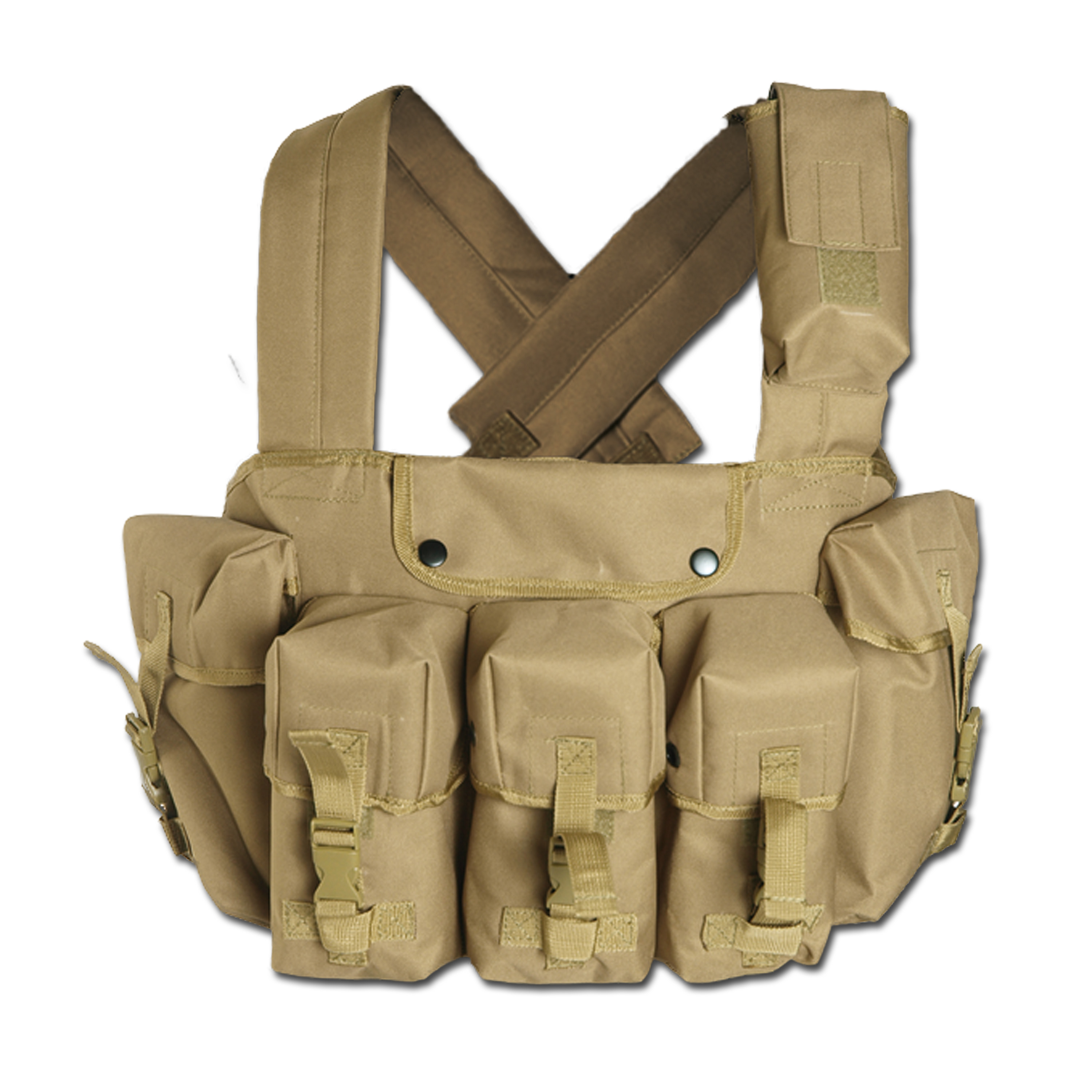 Chest-Rig Mil-Tec 6-Pocket coyote