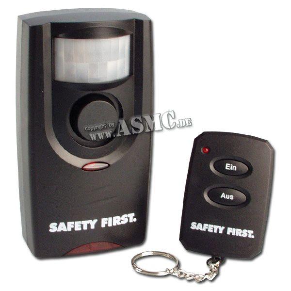 Bewegungsalarm Safety First