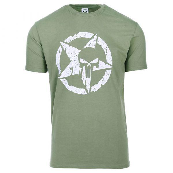 Fostex Garments T-Shirt Allied Star Punisher oliv