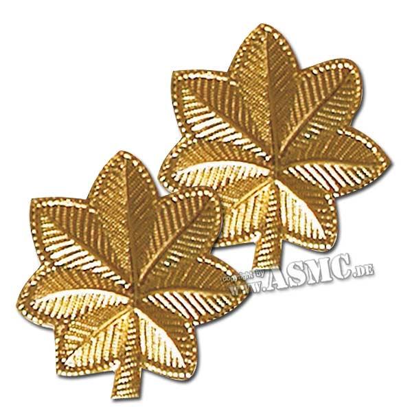 Rangabzeichen US Major polished