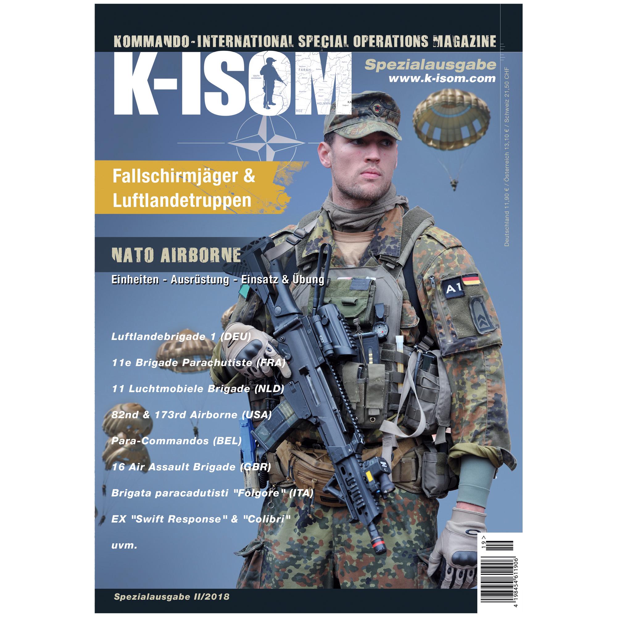 Kommando Magazin K-ISOM Spezialausgabe II/2018 NATO Airborne