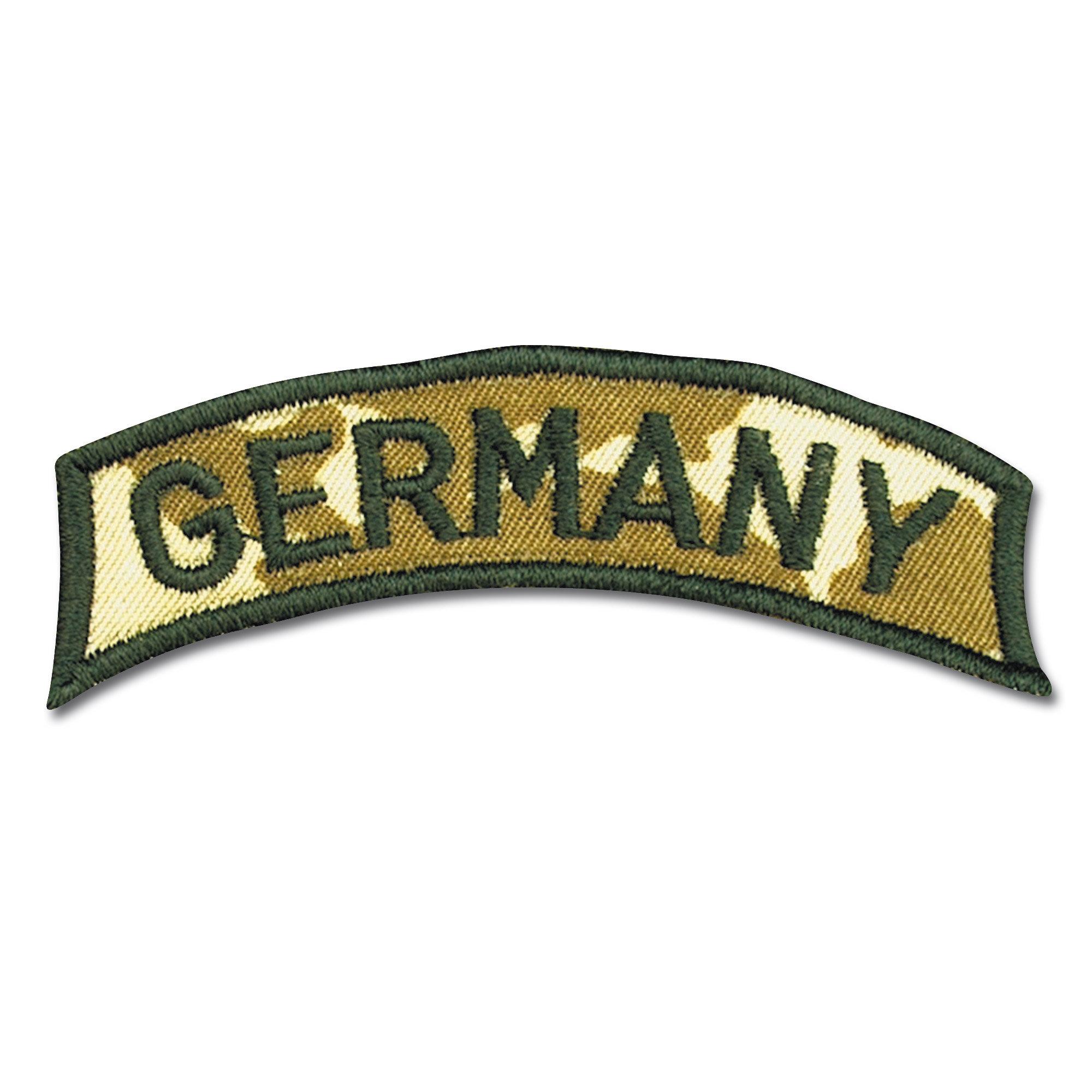 Armabzeichen GERMANY klein fleckdesert