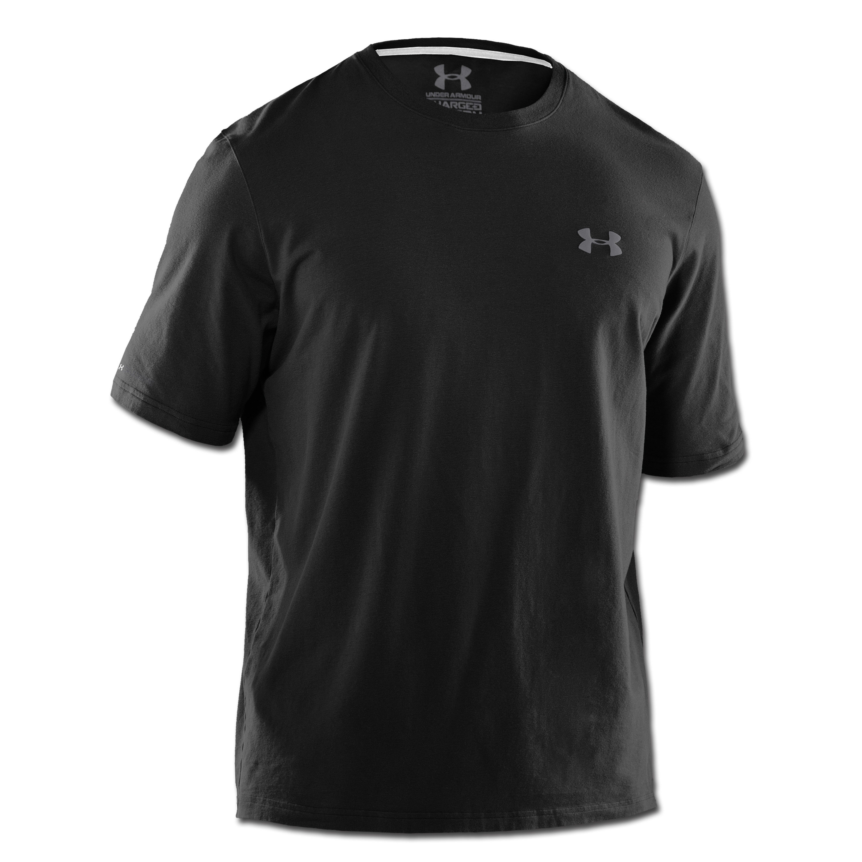 Under Armour T-Shirt Charged Cotton schwarz