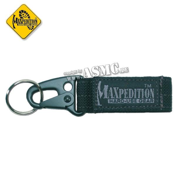 Schlüsselanhänger Maxpedition Keyper schwarz