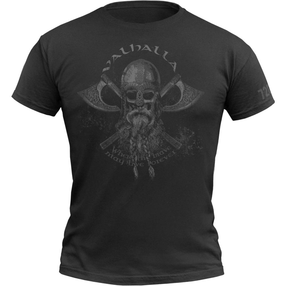 720gear T-Shirt Valhalla schwarz