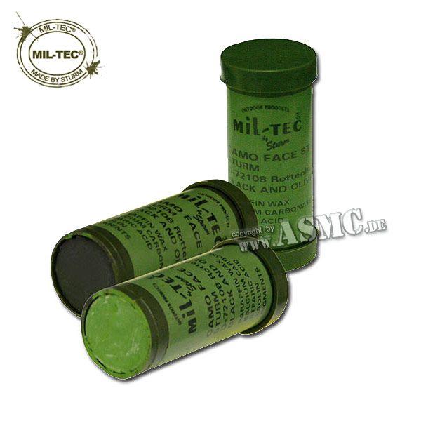 Mil-Tec Tarnstift oliv-schwarz