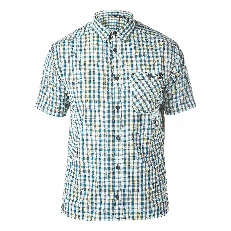Berghaus Shirt Gavel SS grün kariert