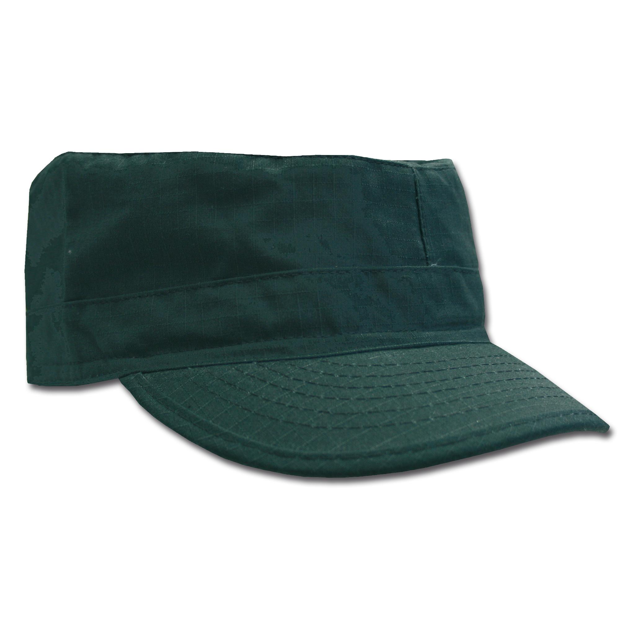 BDU Cap schwarz Ripstop