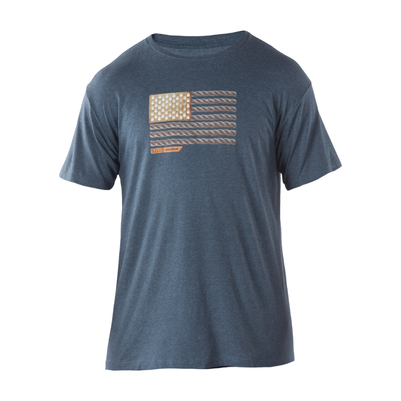 5.11 T-Shirt Recon Rope Ready blau/grau