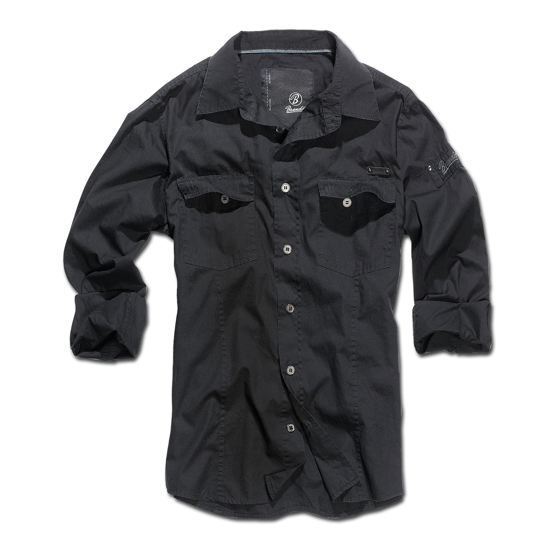 Brandit Shirt SlimFit schwarz