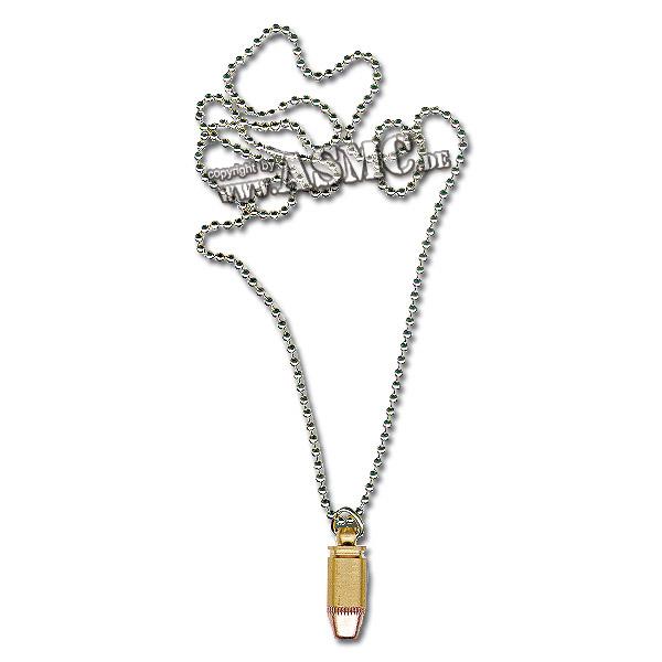 Halskette mit Patrone klein