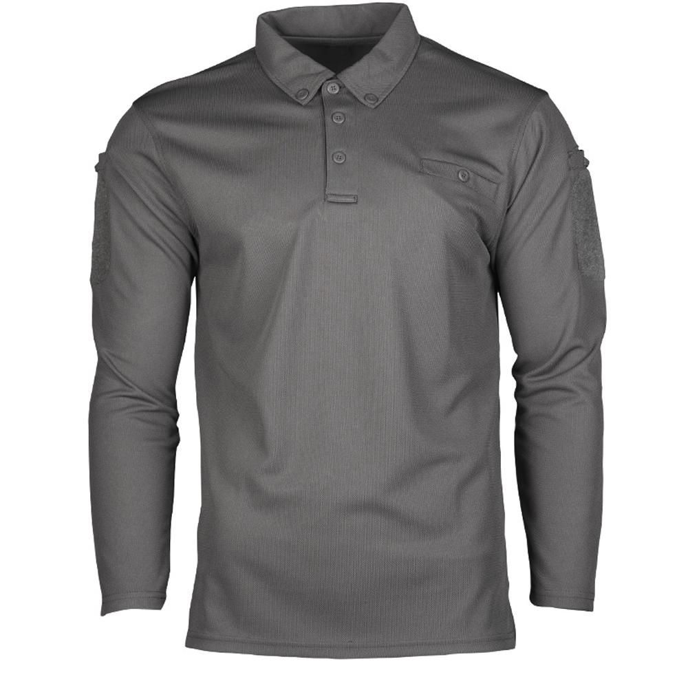 Mil-Tec Tactical Quick Dry Poloshirt urban grey