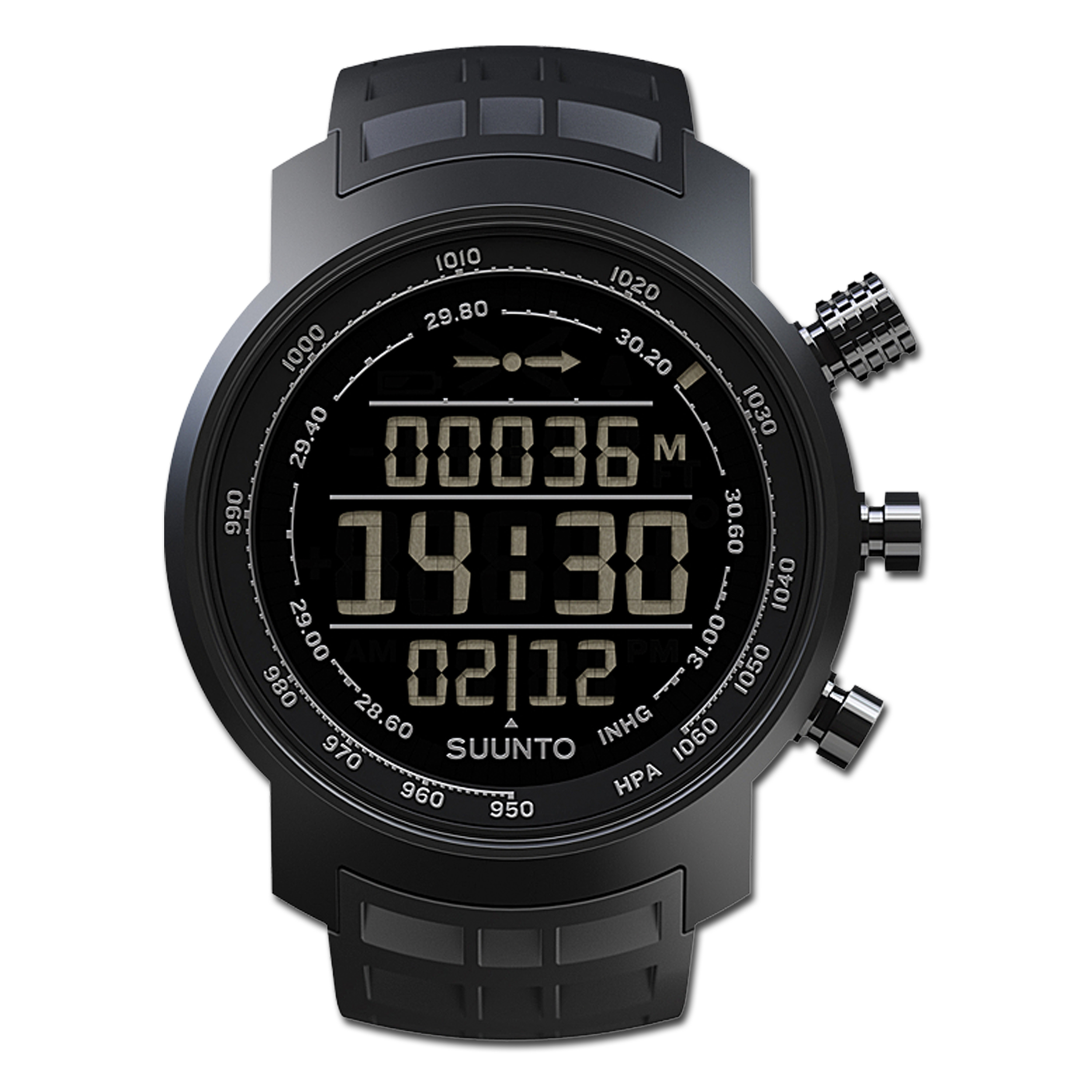 Uhr Suunto Elementum Terra All black