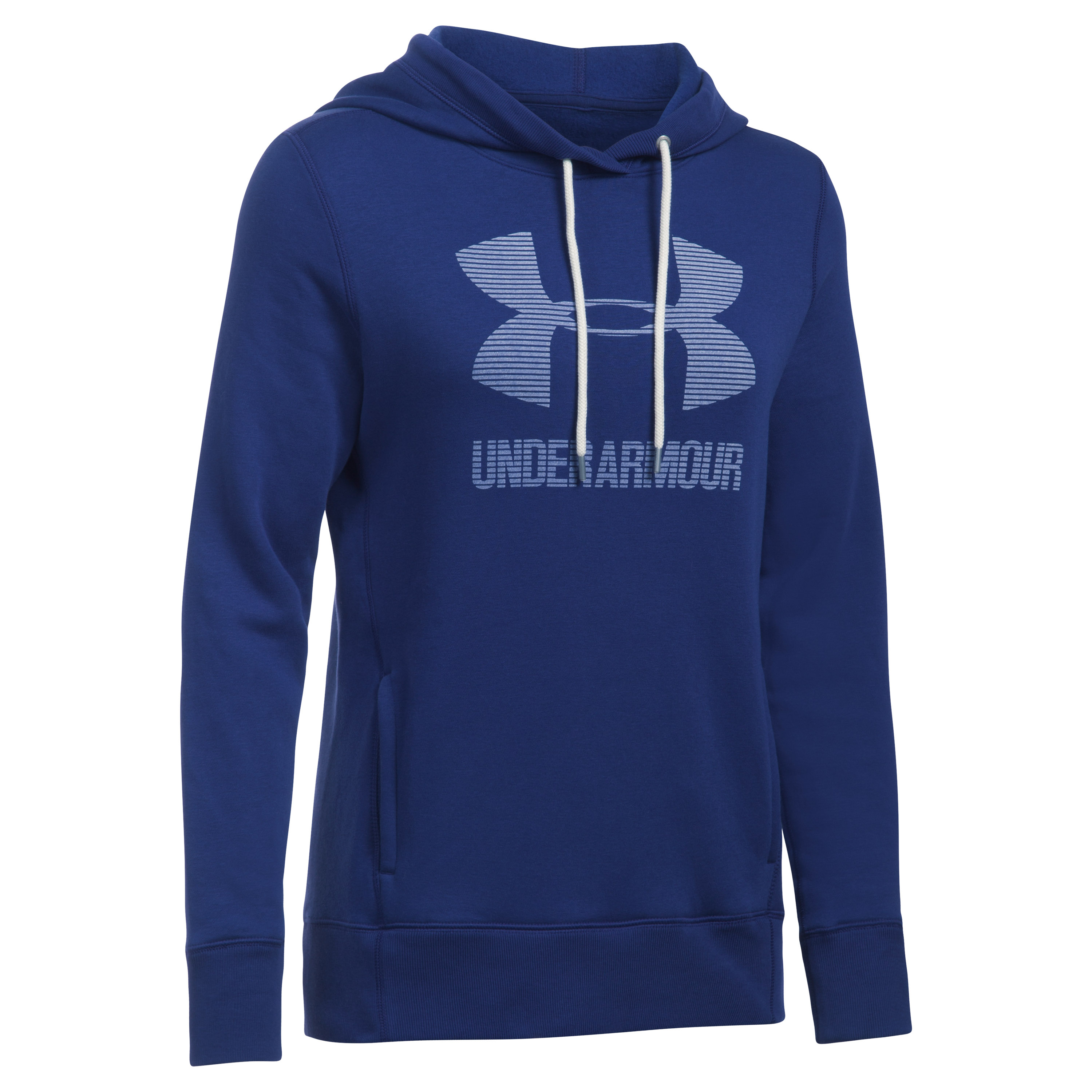 Under Armour Fitness Damen Hoodie lila