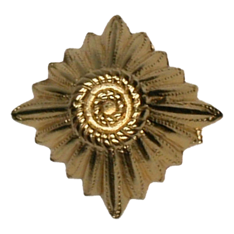 Schulterklappenauflage BW Dienstanzug Rangstern gold