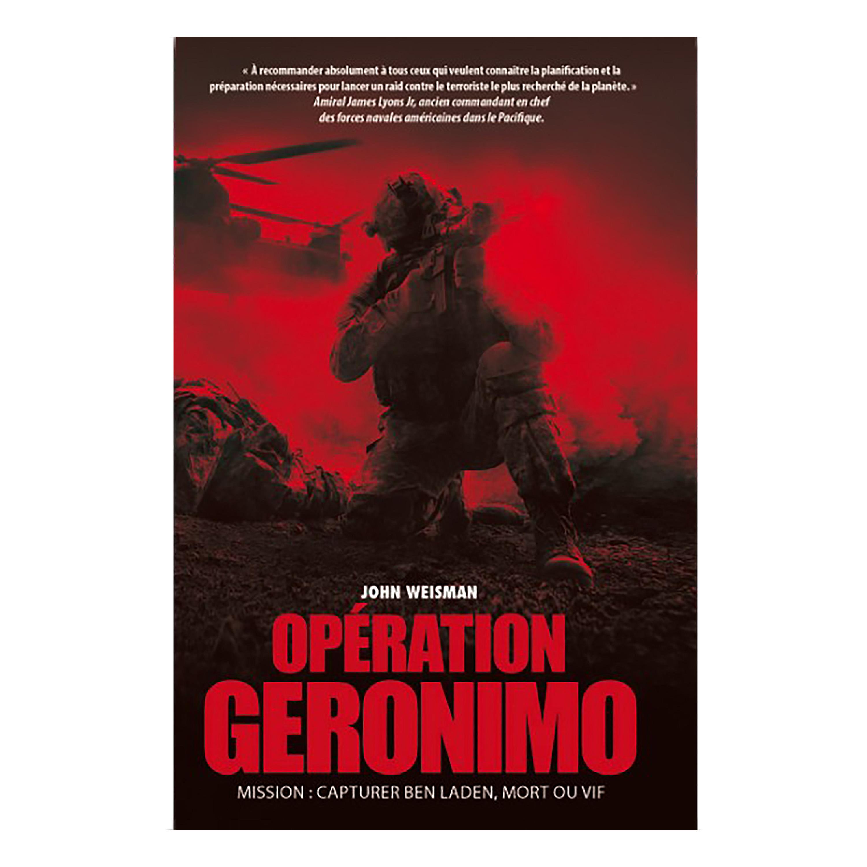Buch Opération Geronimo OT