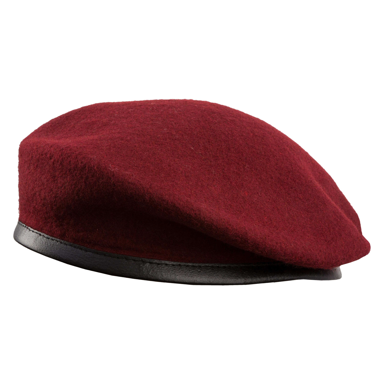 Französisches Barett rot