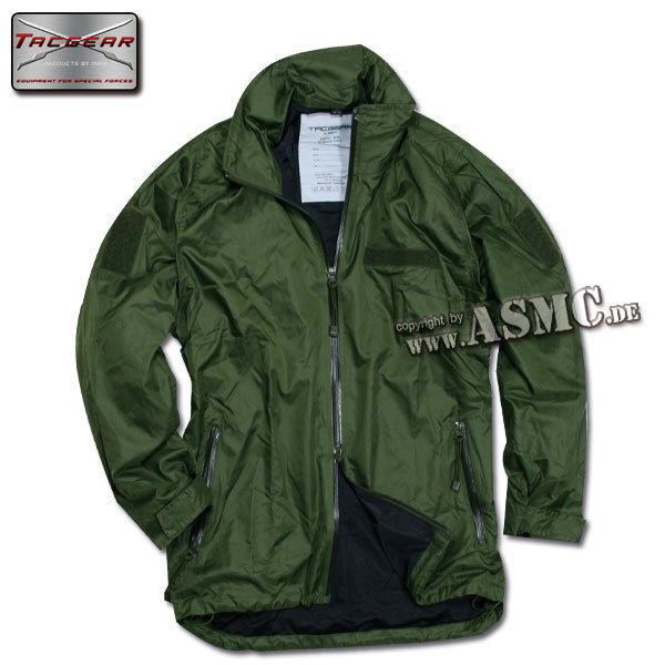 Jacke TacGear Mid Level oliv